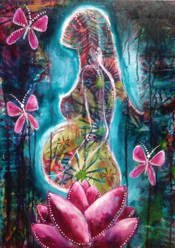 La Transparencia Psíquica del embarazo: ventanas que se abren para mirar otras esferas de ti misma.